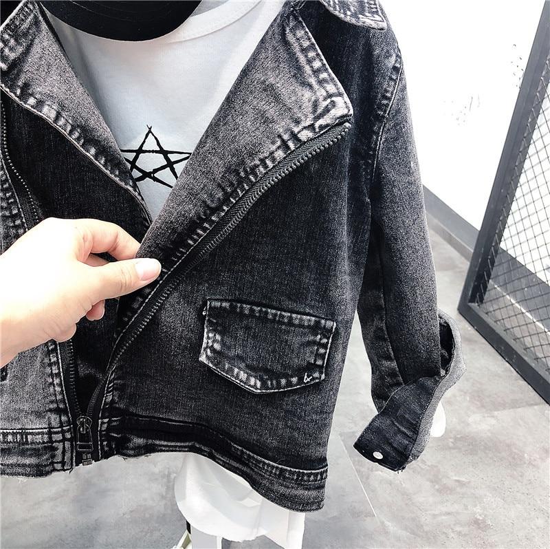boys Denim Jacket For Boys Fashion Coats Children Clothing Autumn Baby Girls Clothes Outerwear Cartoon Jean Jackets Coat 3