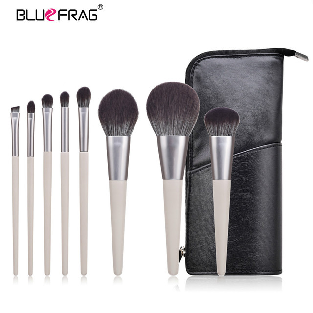 BLUEFRAG 5-14pcs Makeup Brush Set Cosmetic Foundation Powder Blush Eye Shadow Lip Blend Make Up Brushes Tool Kit Maquiagem 2