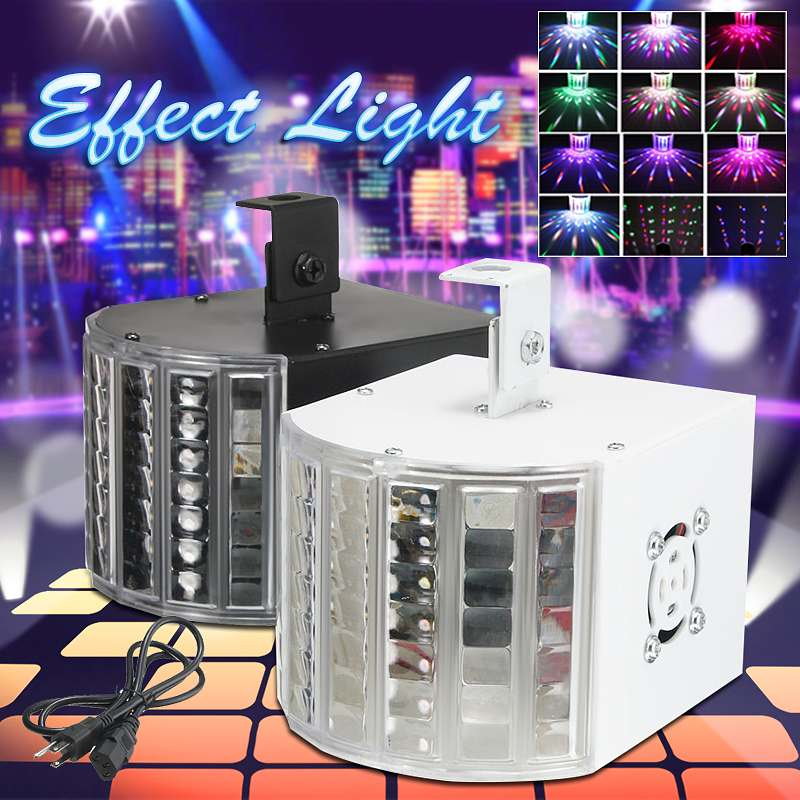 18W RGB LED Stage Light Laser Projector Sound Activated Disco Ball Party Lighting Effect DX512 For Christmas KTV Wedding