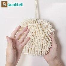 Xiaomi Qualitell Lavaggio A Mano Asciugamano Da Cucina Bagno Appeso Pallamano Pulire Fazzoletto Asciugamani Forte Assorbimento di acqua Rag