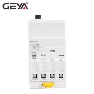Image 4 - GEYA GYHC 4P 16A 20A 25A 4NO veya 2NO2NC 220V/230V Din demiryolu ev AC modüler kontaktör 50/60HZ