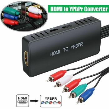 HDMI To 5RCA RGB Component YPbPr Video +R/L Audio Adapter Converter For PS4 PS3 Xbox 360 HDTV Monitor Projector new 1080p hd clear hdmi to rgb component converter ypbpr video and r l audio adapter converter