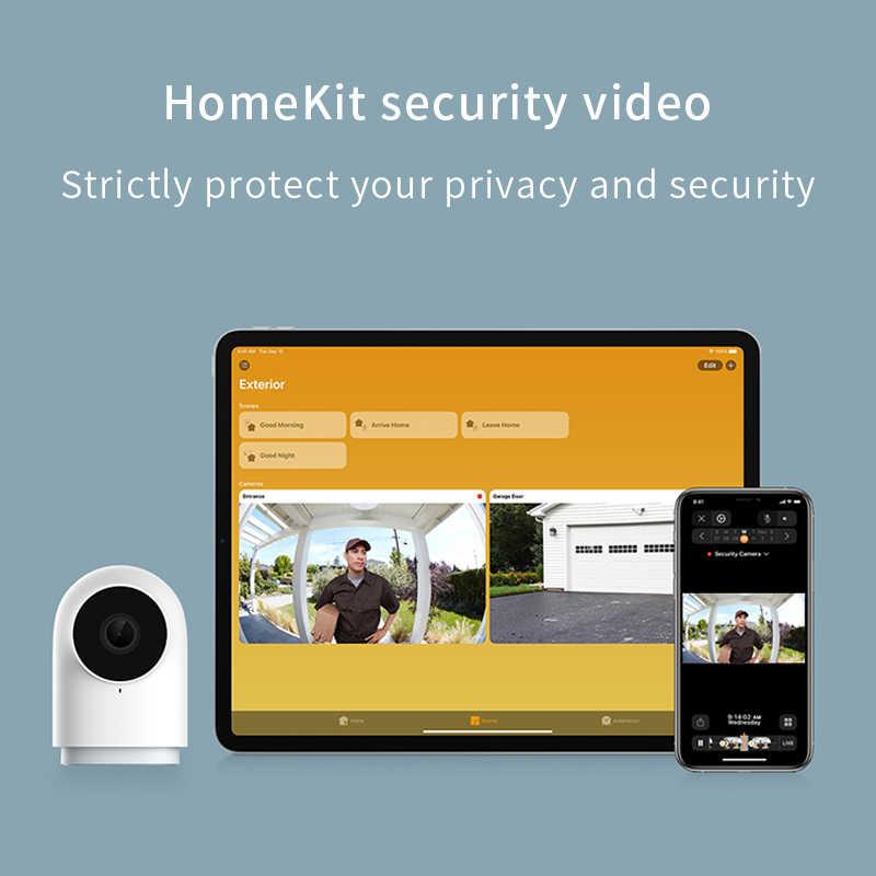 HOT Aqara G2Hกล้อง 1080P HD Night VisionสำหรับApple HomeKit APPการตรวจสอบG2H Zigbee Wifi Smart Home securityกล้อง