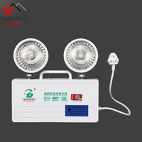 The new national standard LED fire emergency lighting power supply safety accidents with double charge storage wall outlet