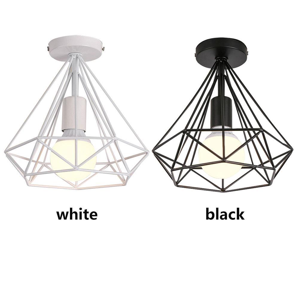 Железные потолочные светильники, металлические потолочные светильники, лампа E27, Скандинавская Люстра для спальни, столовой, Декор, кабинет, Подвесная лампа из лигнита