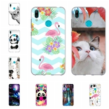 For Huawei Y5 2019 Y6 2018 Y7 2019 Case TPU For Huawei Mate 20 lite Enjoy 8e Cover Animal Pattern For Huawei Y5 II Honor 7A Capa все цены