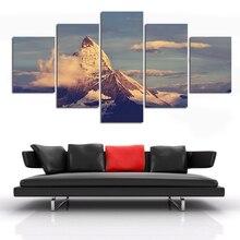 5 шт пейзаж настенная живопись Современный домашний декор холст