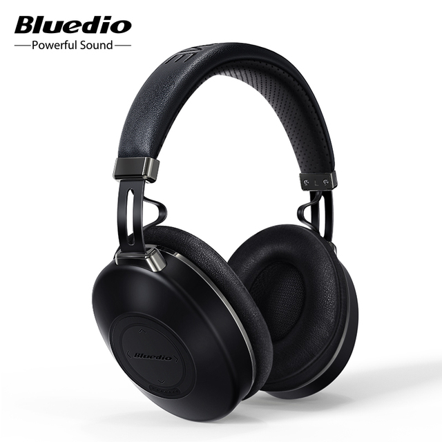 Bluedio H2 Bluetooth 5.0 Headphones ANC Headset HIFI sound SD card slot