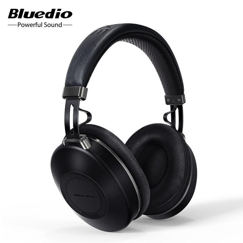 Bluedio H2 Bluetooth 5.0 Headphones ANC Wireless Headset HIFI sound step counting SD card slot Cloud function APP support|Bluetooth Earphones & Headphones|   - AliExpress