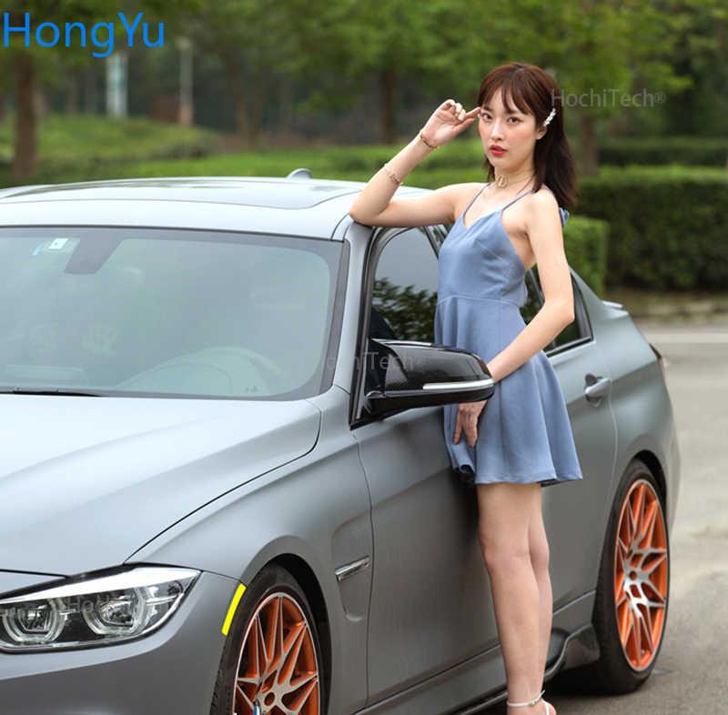 2 stücke Auto Auto Rückansicht Seiten Spiegel Abdeckung Trim Für BMW F20 F21 F22 F23 F30 F31 F32 F36 x1 E84 F87 M2 Carbon Faser Stil