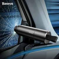 Baseus marteau de sécurité voiture fenêtre de voiture brise-verre Auto ceinture de sécurité coupe couteau Mini sauvetage évasion marteau voiture outil d'urgence