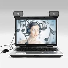 CARPRIE produit chaud nouveau 1 paire de Mini Portable USB multimédia ordinateur Portable Audio sondeur haut-parleur 20JUN 20