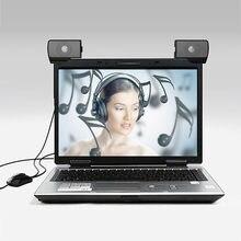 OuhaobinHot – nouveau produit, 1 paire de Mini haut-parleurs USB portables pour ordinateur multimédia Portable, sondeur Audio, 20jun 20