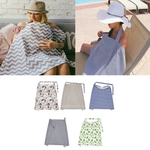Apron Baby-Stroller Maternity Breast-Feeding-Blanket Canopy Seat-Cover Nursing Pure-Cotton