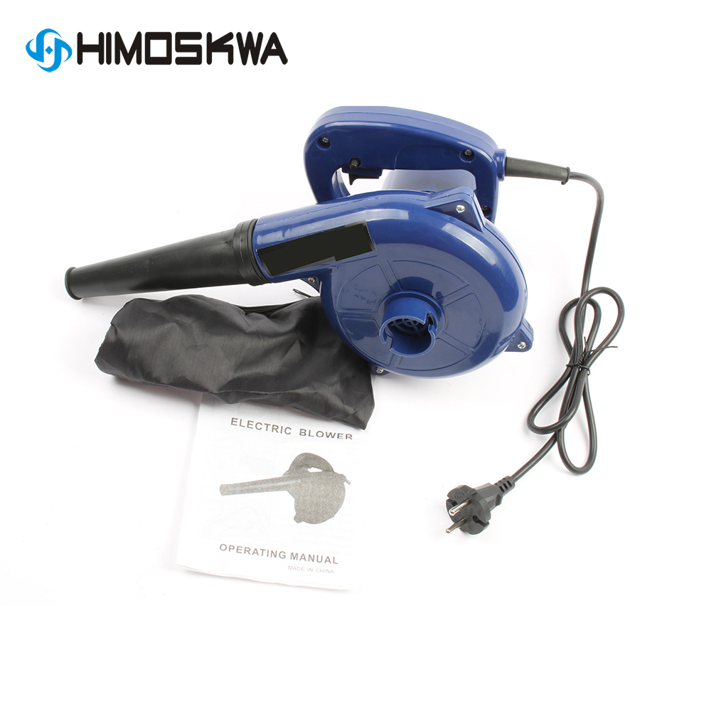 EU plug Power Tools High Power Industrial Blower 600w 13000rpm Blow And Suck Dual Computer Inflatable Blower 2.8m3/min Blue 220V|Blowers| |  - title=