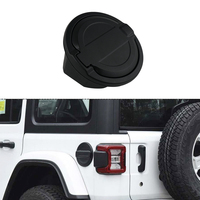 For JEEP Wrangler JL 2018 2020 Fuel Filler Door Gas Cap Cover Accessories Free Ship