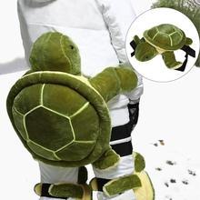Защита для катания на лыжах, модные наколенники, защита от падения, Противоударная, форма черепахи, копчик, защитная подушка для улицы, для зимнего катания на лыжах