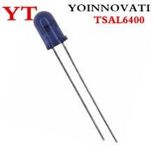 10 pçs/lote TSAL6400 5mm LED Infravermelho EMISSOR IR 940NM 100MA RADIAL ORIGINAIS