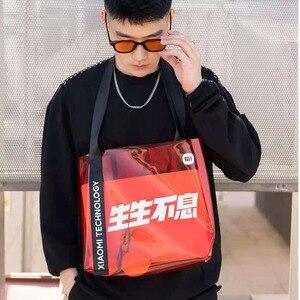Image 4 - Xiaomi Mi Shoulder Bags Women Men Fashion Backpack Xaomi Multifunctional Sports Leisure Waist Chest Bag Xiomi Travel Outdoor NEW