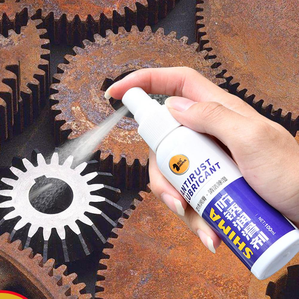 100ml/120ml Anti-rust Lubricant New Rust Inhibitor Rust Remover Spray Rust Quick Cleaming Spray Car Home Cleaning Supplies