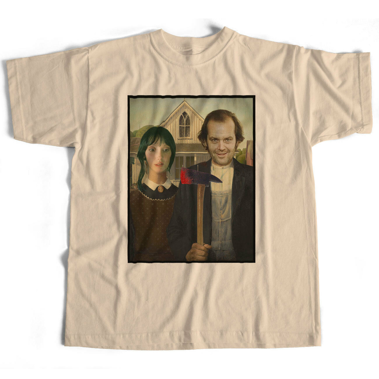 Inspired By The Shining T Shirt - Jack & Wendy American Gothic Horror Kubrick