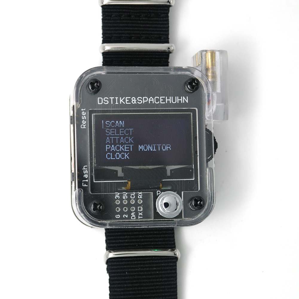 Smart-Watch Wristband ESP32 Wearable-Esp8266-Development-Board Iot Wifi Deauther DSTIKE