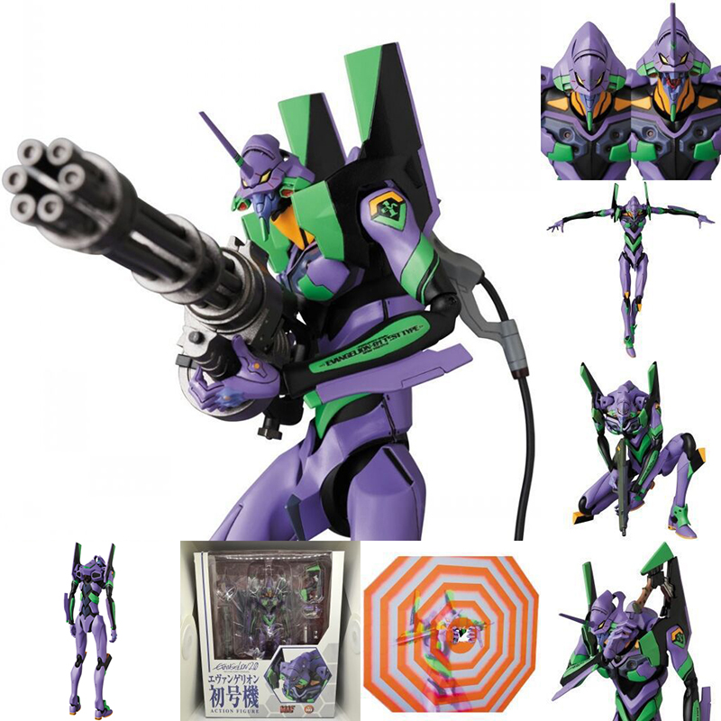 19CM Anime NEON GENESIS <font><b>EVA</b></font> Action <font><b>Figure</b></font> <font><b>EVA</b></font>-<font><b>01</b></font> TEST TYPE MAF080 Collection Model <font><b>Figure</b></font> Toys Christmas Birthday Gift with Box image