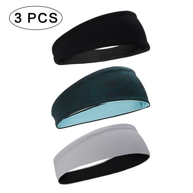 Sports Headband Men'S Hair Band Sweat Belt  Fitness Sweat-Absorbent Turban Yoga Running Hair Band 1