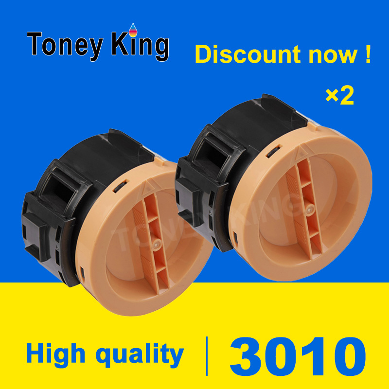 Toney King 2 PCS Compatible 106R02182 106R02183 Toner Cartridge for <font><b>Xerox</b></font> Phaser 3010 3040 WorkCentre <font><b>3045</b></font> printer With chip image