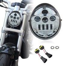 60w V-Rod motocicleta Faro Moto V Rod VRSCF VRSC VRSCR 2002-2017