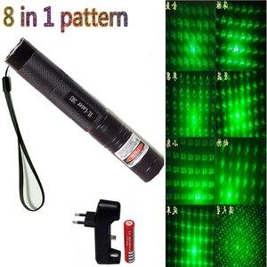 Green Laser Pointer 8 in1 dot
