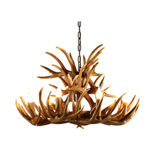 Antler American Nordic Living Room Dining Bar Retro Lamp Mediterranean Art Creative Industrial Wind Chandelier