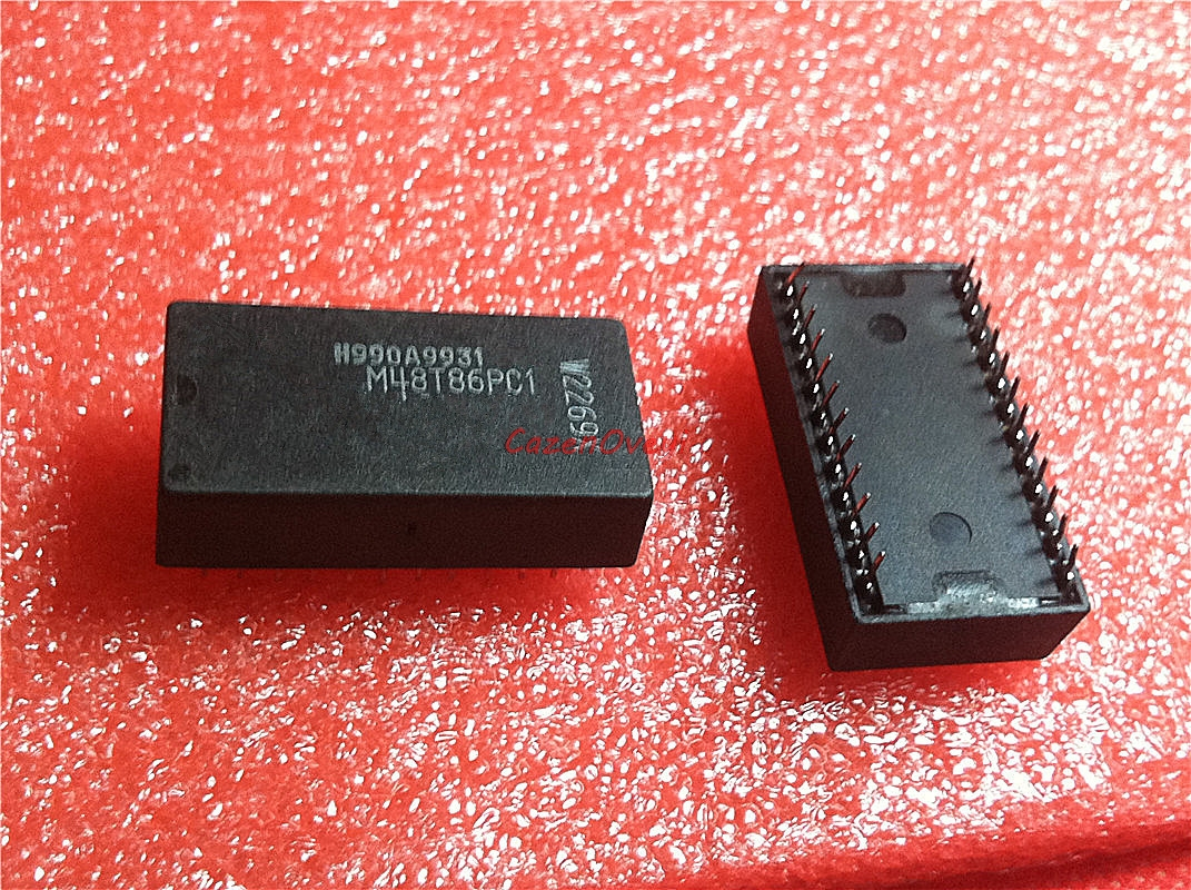 1pcs/lot M48T86PC1 M48T86 DIP-24 In Stock