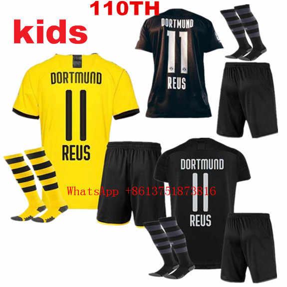 2019 Boy Child T Shirt Dortmund Kids Kit Shirts Socks 19 20 Best Quality Children Kit Borussia Reus Shirt Free Shipping Aliexpress