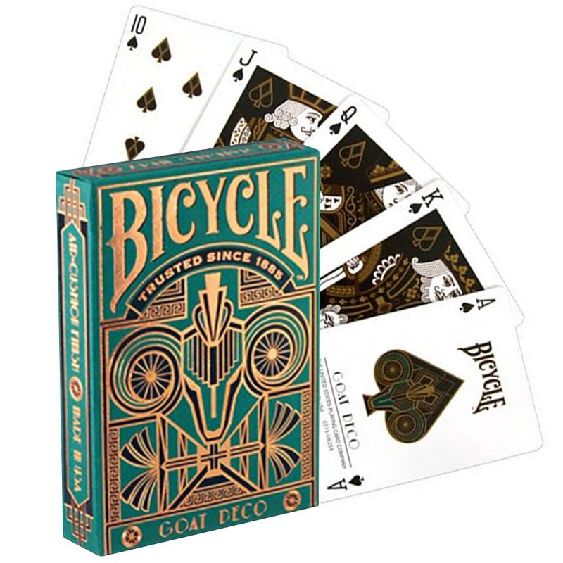 Bicycle Goat Deco Playing Cards Deck Poker Size USPCC Limited Edition Sealed Magic Card Games Magic Tricks Props For Magician