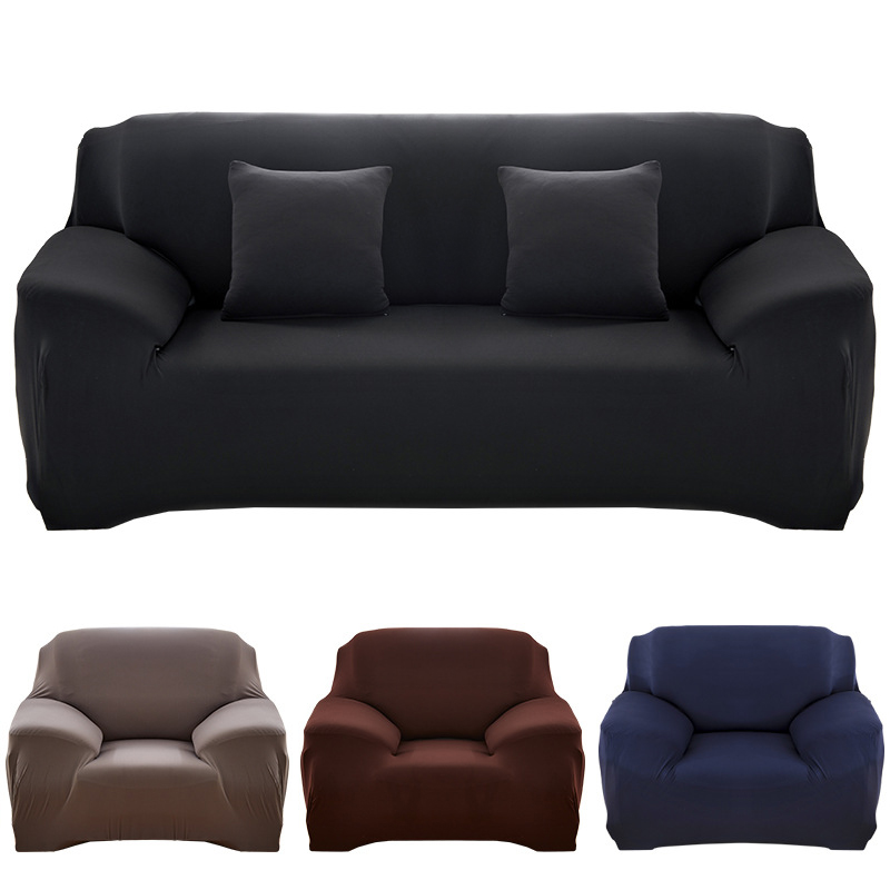 21 colors for choice Solid color sofa cover stretch seat