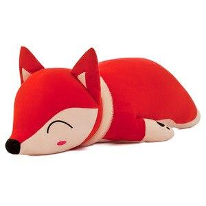 Image 1 - 35/50/60/70/90cm Kawaii Dolls Stuffed Animals Plush Toys for Girls Children Boys Toys Plush Pillow Fox Stuffed Animals Soft Toy