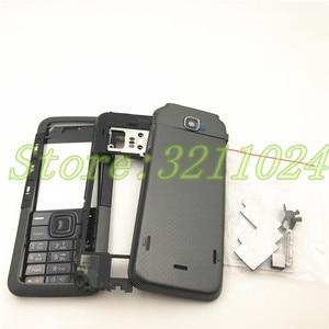 Image 3 - Новинка, чехол хорошего качества с полным покрытием, задняя крышка и английская клавиатура для Nokia 5310 с логотипом