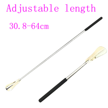 Shoehorn Long-Handle Stainless-Steel Adjustable Length