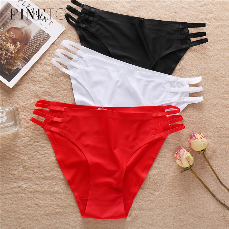 Low Waist Seamless Panties Women Soft Briefs Sexy Hollow Out Underwear Comfortable Solid Color 5 Colors Female Lingerie M-XL New