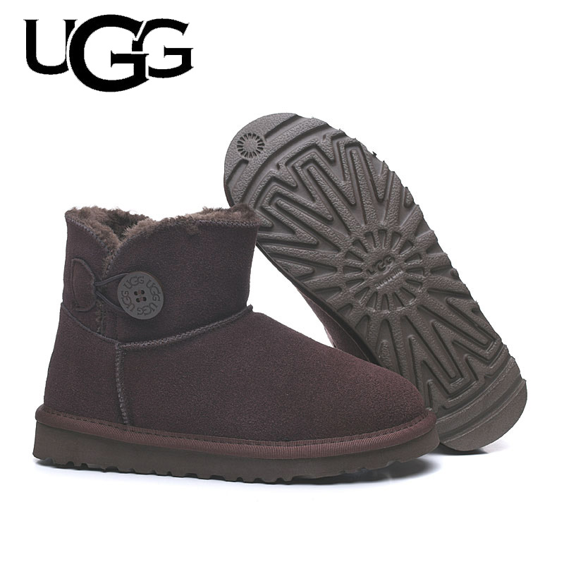2020 Original UGG Boots 3352 Women uggs snow shoes Winter Boots UGG Women's Leather Tall Snow ugged women boots classic
