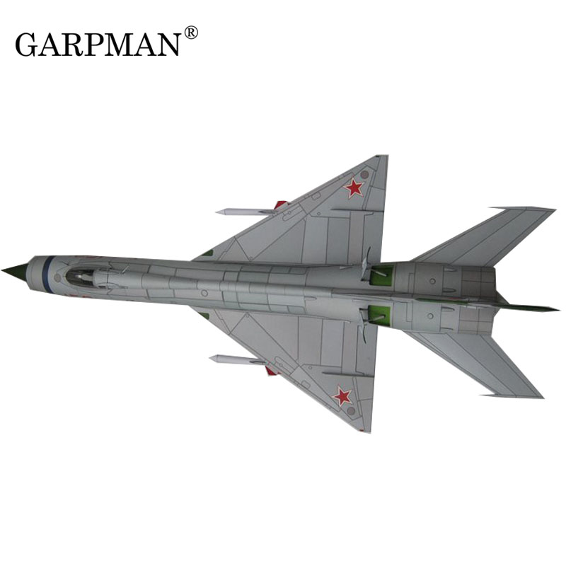 3D Paper Model Of The Russian MIG E-152 A Fin Fighter
