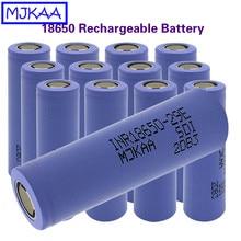 MJKAA 4pcs Original 18650 2900mAh Flat Head Battery 3.7V Rechargeable Li-ion Batteries for Power Bank Flashlight Battery 18650 стоимость