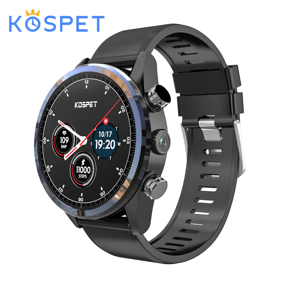Kospet Hope 4G affaires montre intelligente hommes téléphone Android7.1.1 3GB + 32GB 1.39