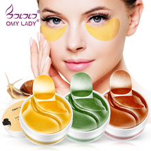 OMY LADY 60PCS Eye Patch Mask Collagen  Against Wrinkles Dark Circles Care Eyes Bags Pads Ageless Hydrogel