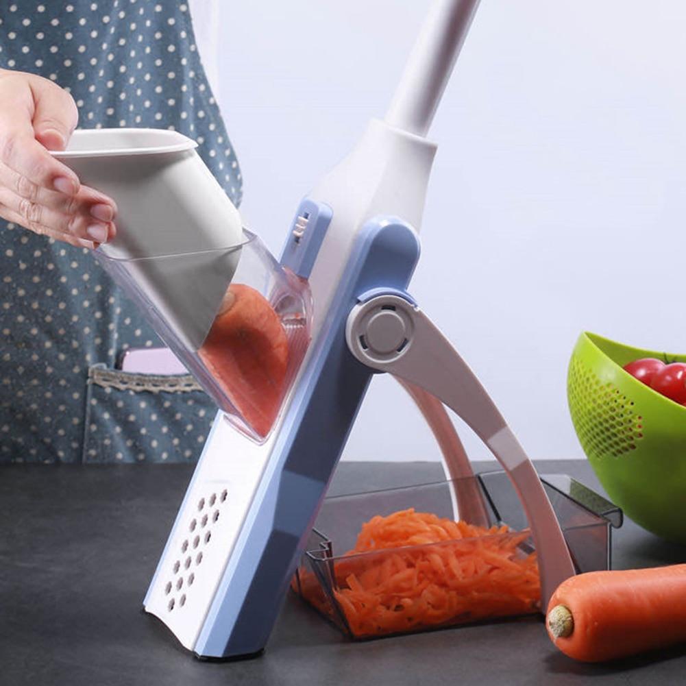 5 в 1 многофункциональная овощерезка, фруктовый резак Chif, умелый измельчитель овощей, терка, функциональные кухонные аксессуары, домашние ин...