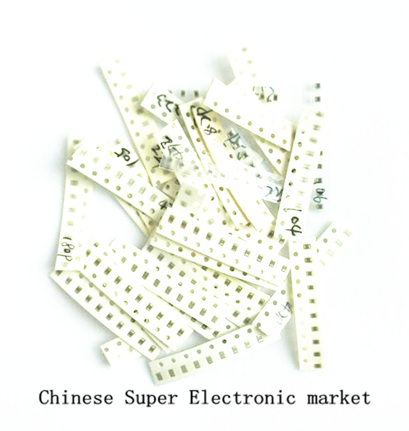 36values*10pcs=360pcs Samples 0805 SMD Ceramic Capacitor Assorted kit 1pF~10uF