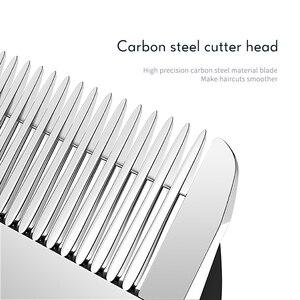 Image 2 - Profesyonel saç kesme makinesi erkekler elektrikli saç düzeltici ev düşük gürültü saç kesimi tıraş makinesi 220 240V Styling aracı 40D