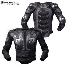 GHOST RACING Cycling Jackets Motorcycle Racing Armor Jacket Protective Gear Outdoor Sports Shoulder Chest Back Support Protector