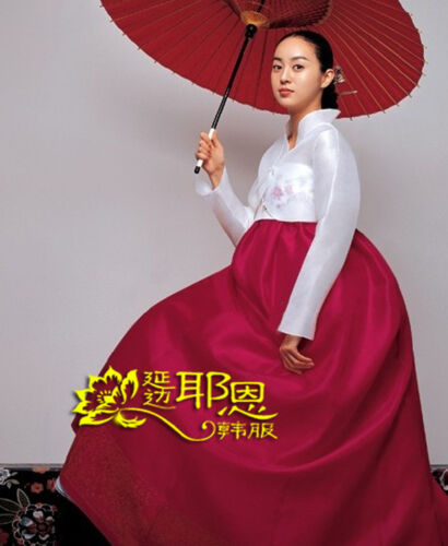 Hanbok Dress Traditional Korean Ceremony Costume Fushion Korean Improved Hanbok  Traditional Clothing